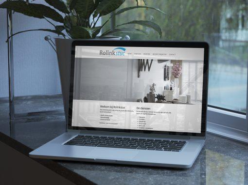 RolinkStuc logo, website en visitekaartjes