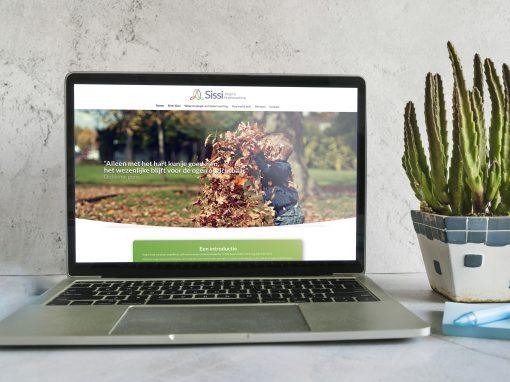 Sissi Jeugd en Kindercoaching logo, website, flyer en visitekaartje